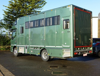 Six horse Transporter Box built to DGS Horse Transport own specification